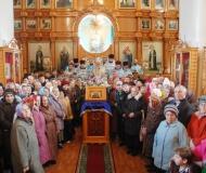 Престольный праздник Иверско-Серафимовского собора города Экибастуза