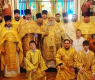 День тезоименитства епископа Павлодарского и Экибастузского Варнавы