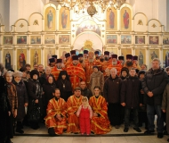 Празднование памяти новомучеников и исповедников Павлодарских