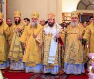 Епископ Варнава принял участие в праздновании 20-летнего юбилея Барнаульской епархии