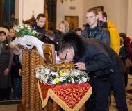 В Павлодарскую епархию принесены икона и ковчег с частью мощей святого мученика Вонифатия