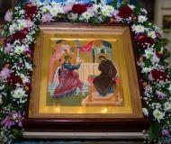 «Днесь спасения нашего главизна». Престольный праздник в Благовещенском кафедральном соборе города Павлодара