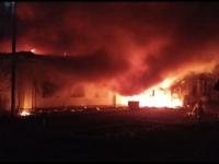 В Петропавловском женском монастыре села Павлодарское пожар уничтожил старое монастырское здание